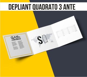 Misure Depliant 3 Ante.Stampa Depliant Flyer Pieghevoli Consegna Rapida Gasbologna